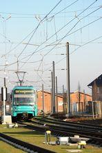 Frankfurter Stadtbahn U8 auf dem Riedberg