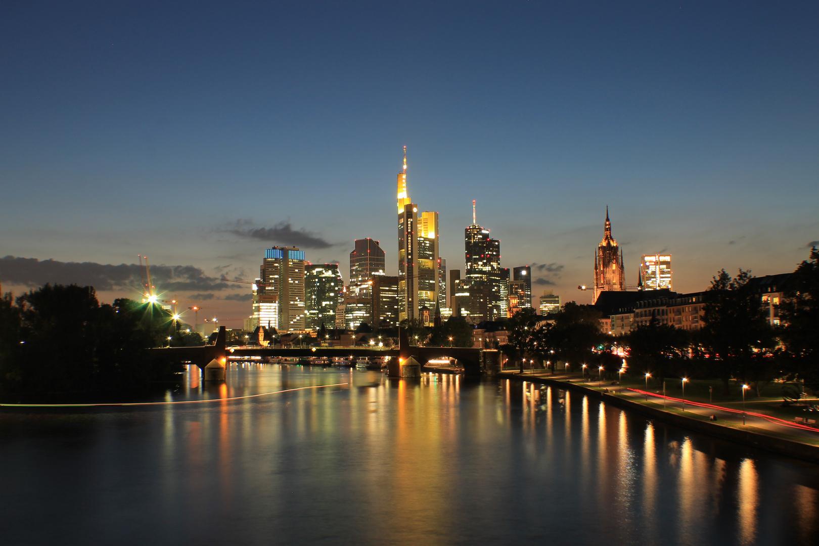 Frankfurt's Blaue Stunde
