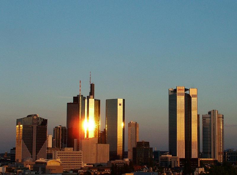 Frankfurts goldene Türme