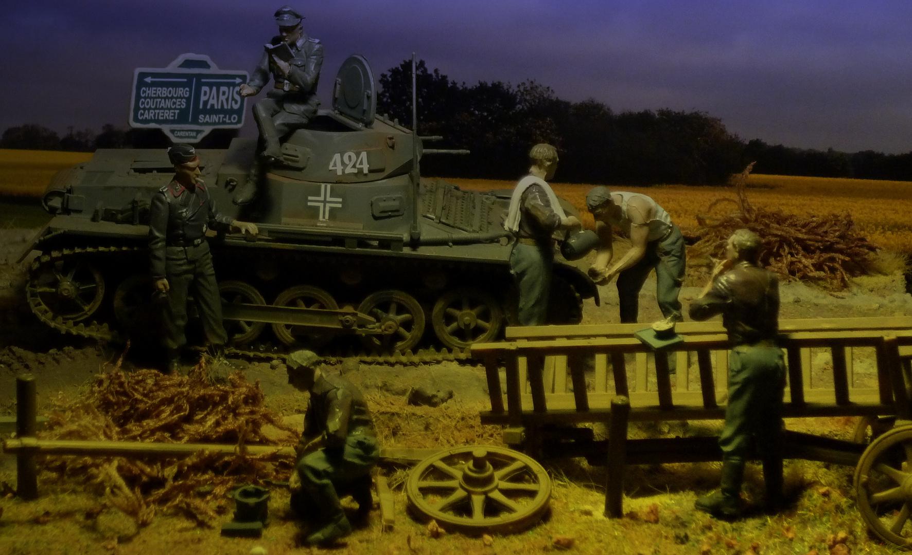 Frankreich 1940 - Rast vor Paris (Panzer I)