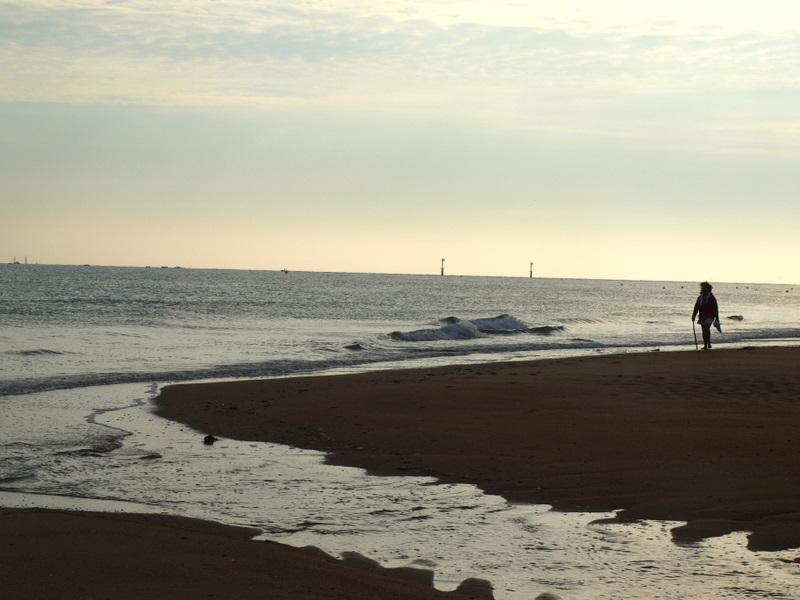 frankreich am strand