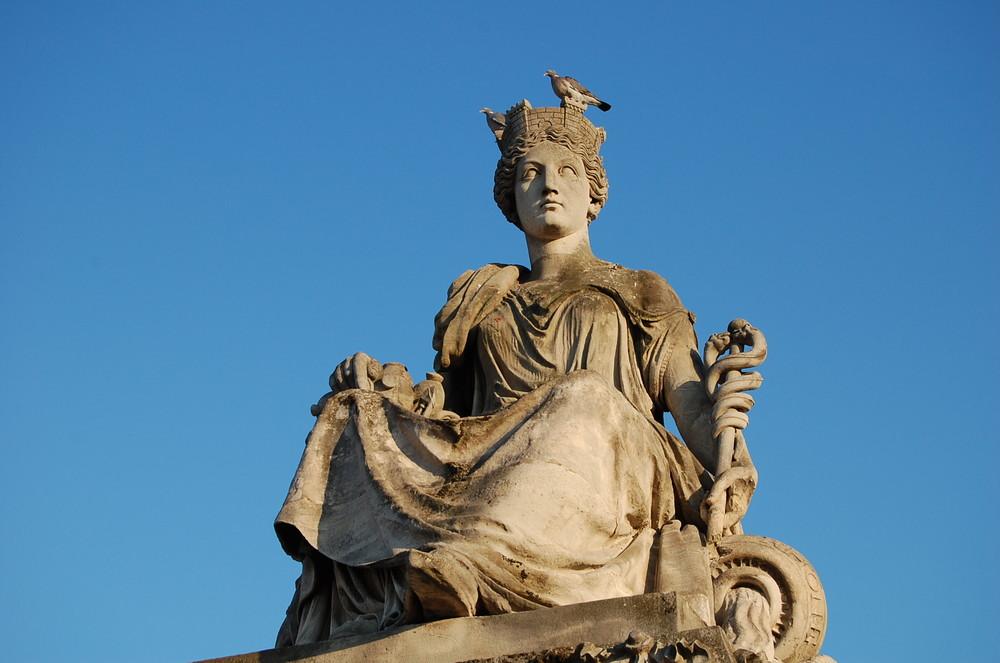 Frankreich Statue Paris
