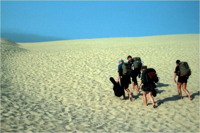 "frankreichs Wüste ""Dune du Pyla"""