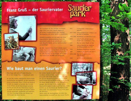 Franz Gruß--der Sauriervater in Kleinwelka Bautzen