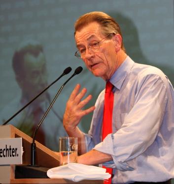 Franz Mütefering (SPD) in München 3.9.08