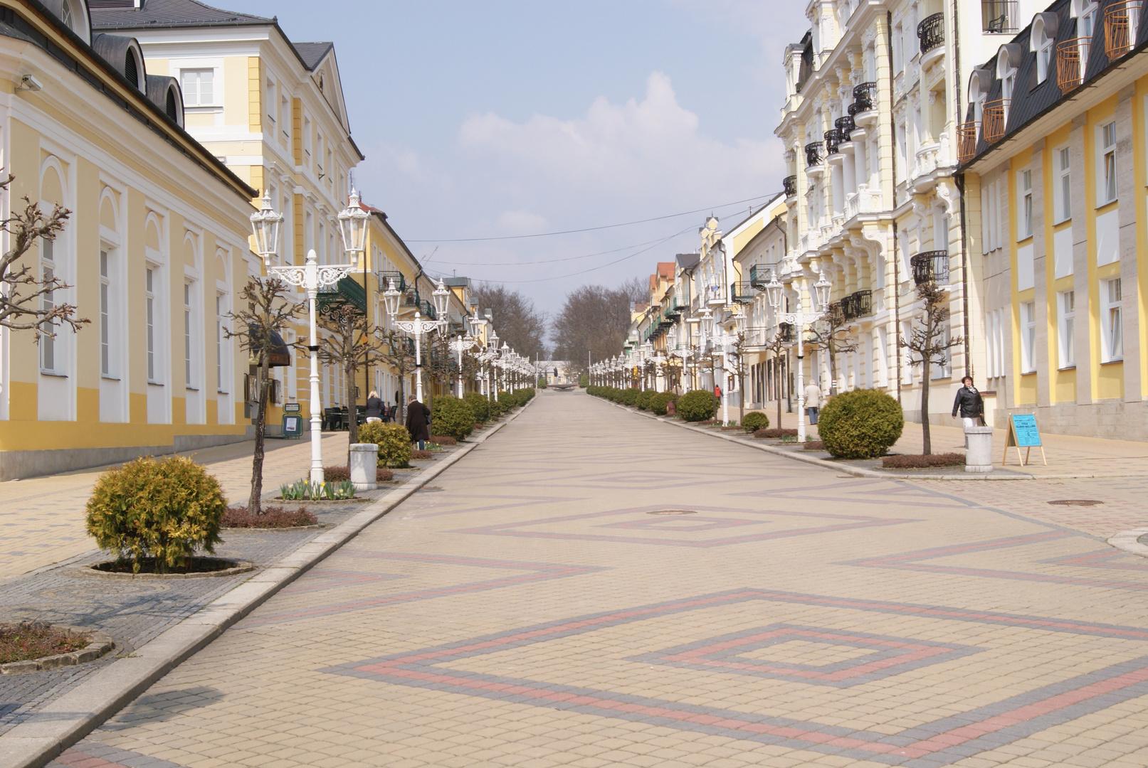 Franzensbad -am Nachmittag