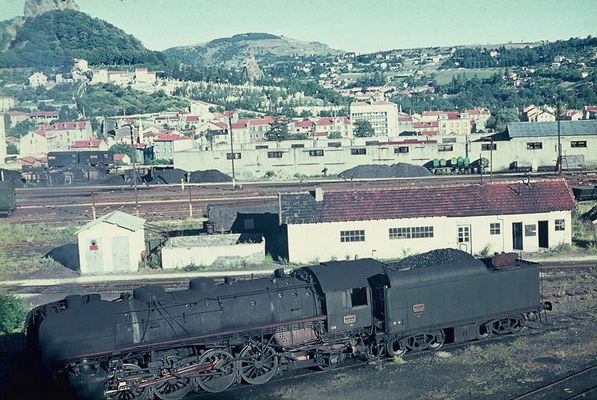Französische Dampflok der Baureihe 141 R