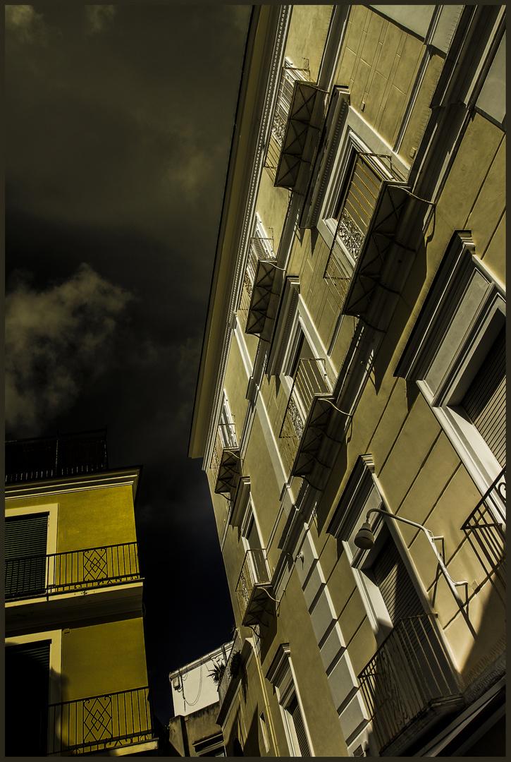 französischer balkon auf capri