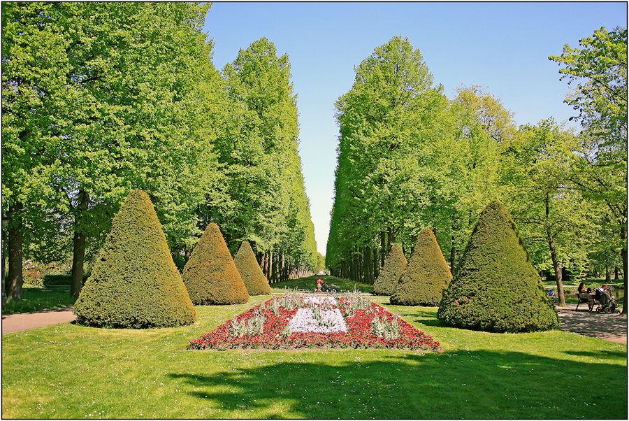 Französischer Garten in Celle