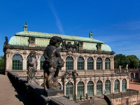 Französischer Pavillion Zwinger Dresden