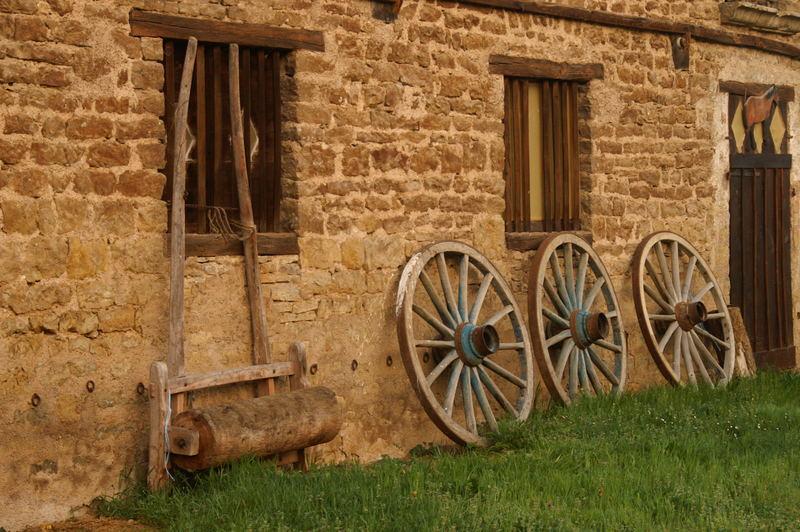 Französisches Still-leben in einem Bauernhof
