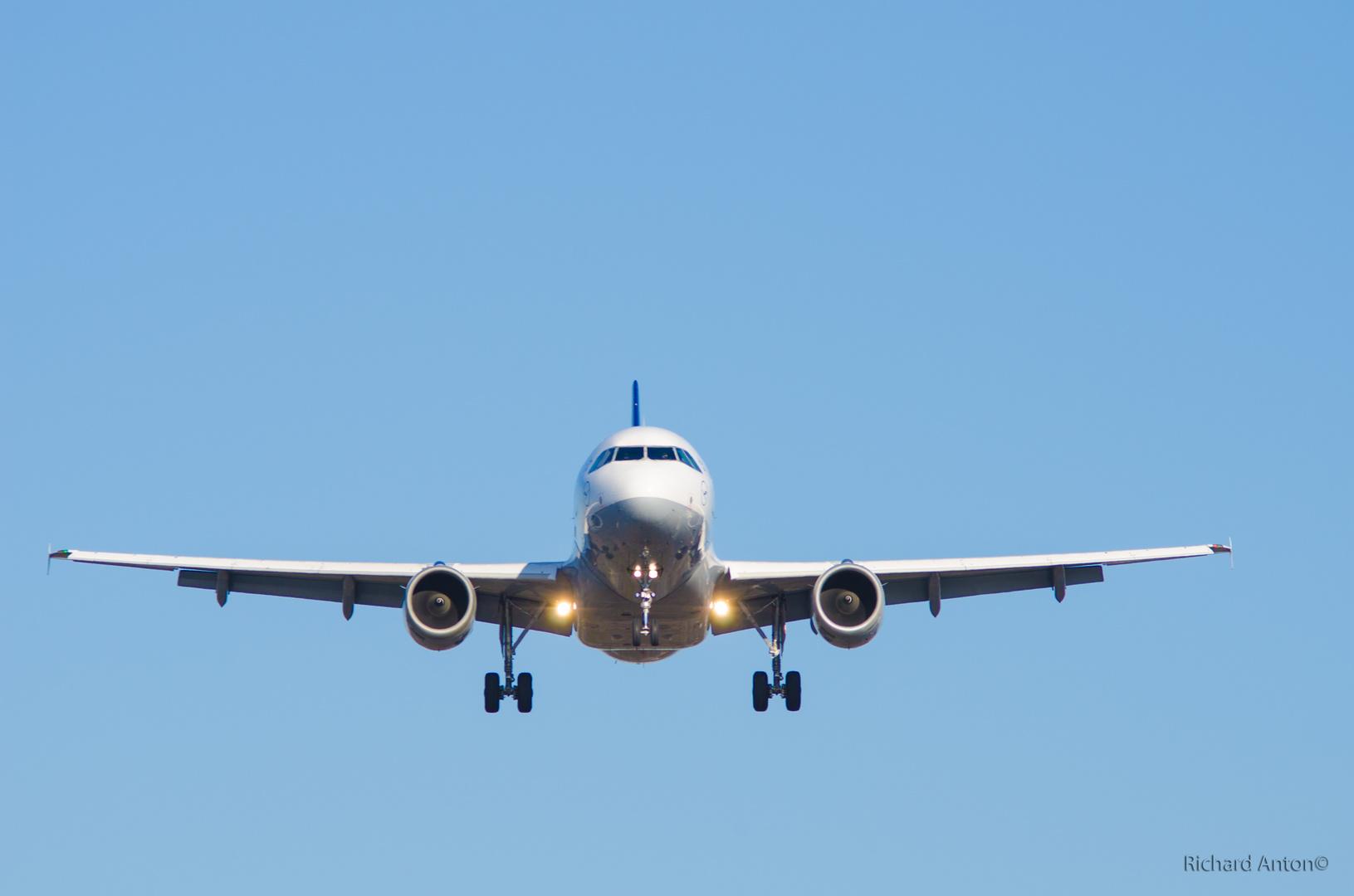 Fraport Landeanflug