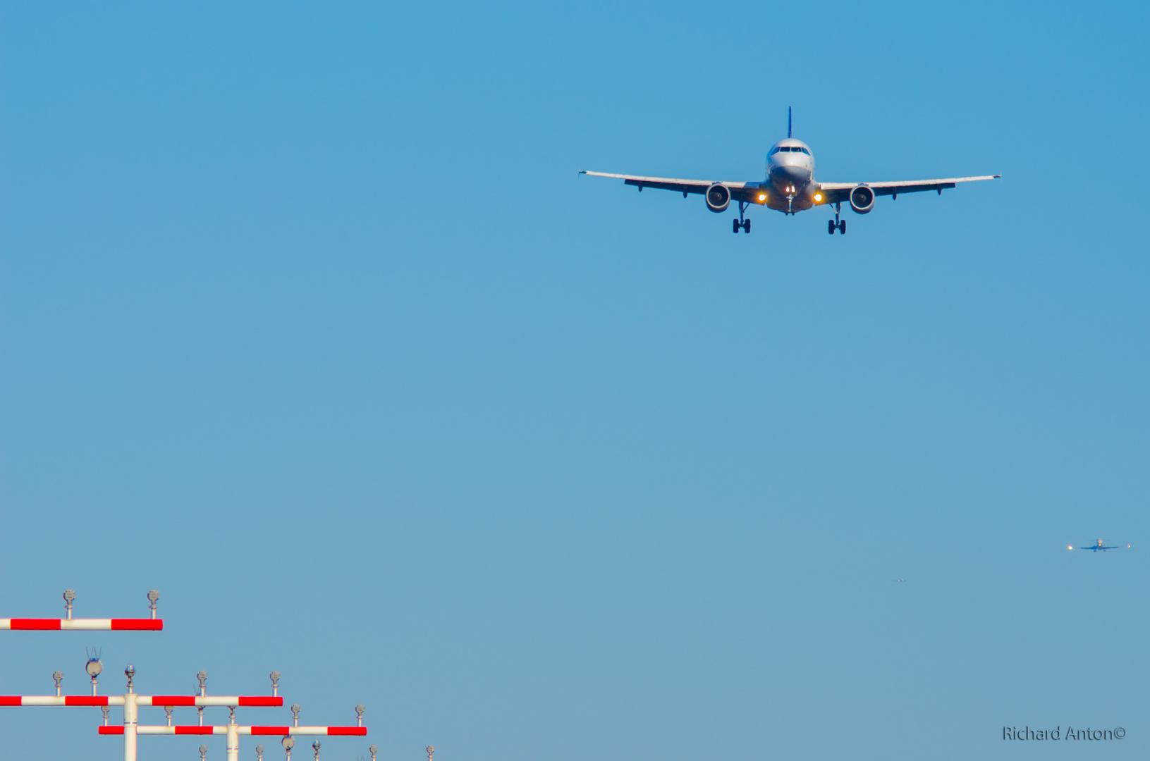 Fraport Landeanflug 3