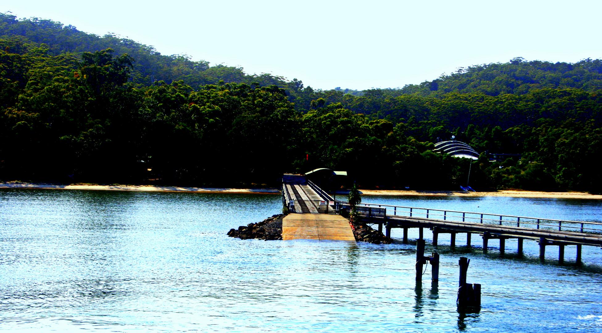 Fraser Island, llegada