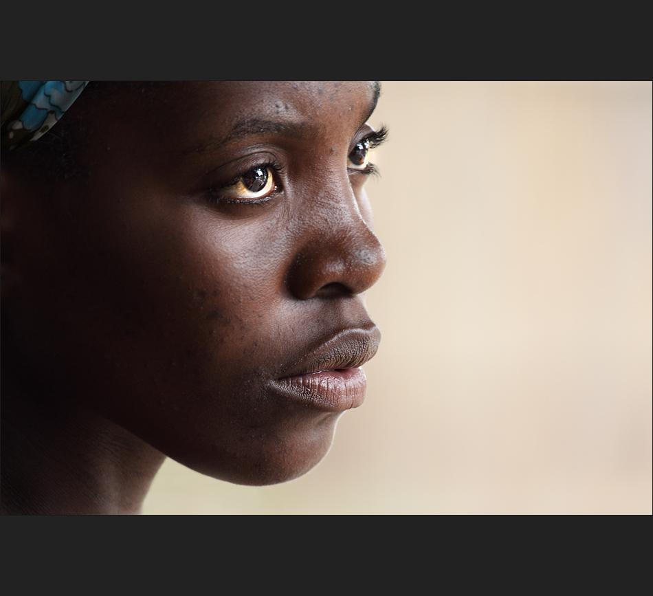 Frau aus Lizauli - Namibia