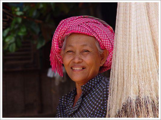 Frau aus Tak Mau - Kambodscha