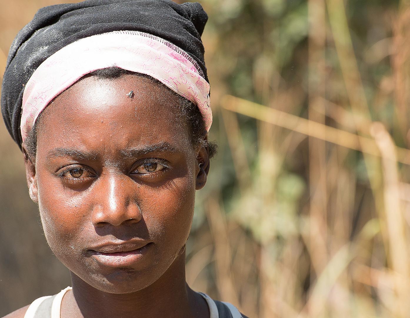 Frau aus Zambia