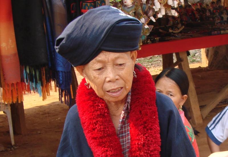 Frau des Bergvolkes Yao