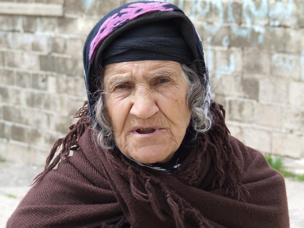 Frau im Norden Iraks