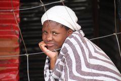 Frau im Shop ... bei Kapstadt