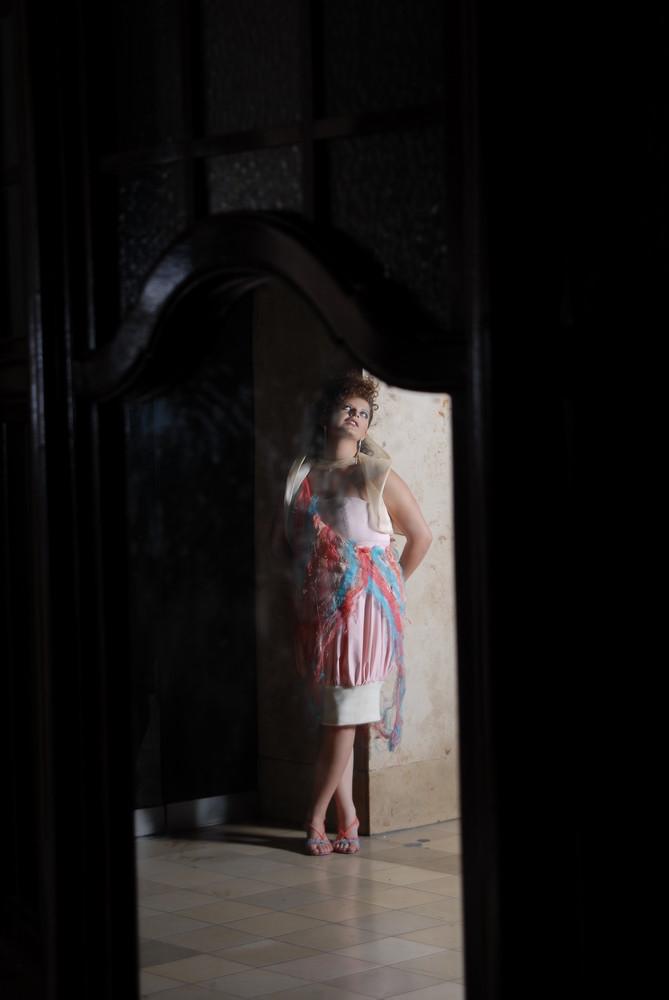Frau im Spiegel ... mal anders