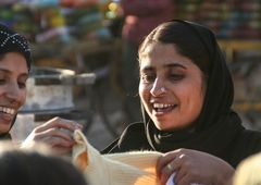 Frau Markt India street Rajasthan
