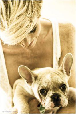 Frau mit Hund 16