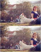 Frauchen & Hund