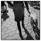 Frauchen mit Hund