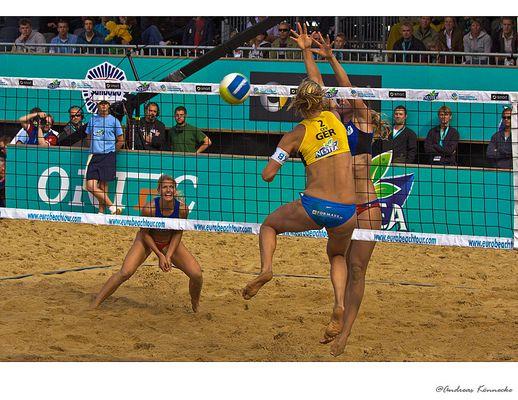 Frauen-Beachvolleyball: Nestea European Championship in HH