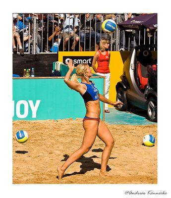 Frauen-Beachvolleyball: Nestea European Championship in HH - II