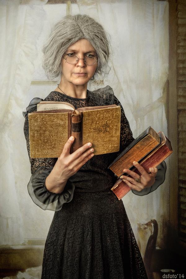Frauen die lesen sind gefährlich