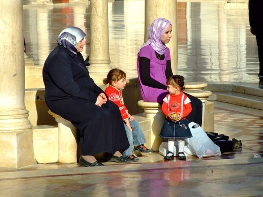 Frauen dreier Generationen