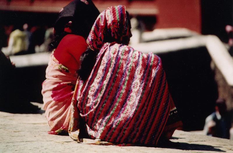 Frauen in Kathmandu