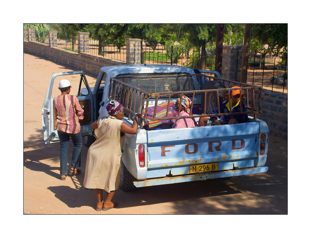 Frauen in Namibia