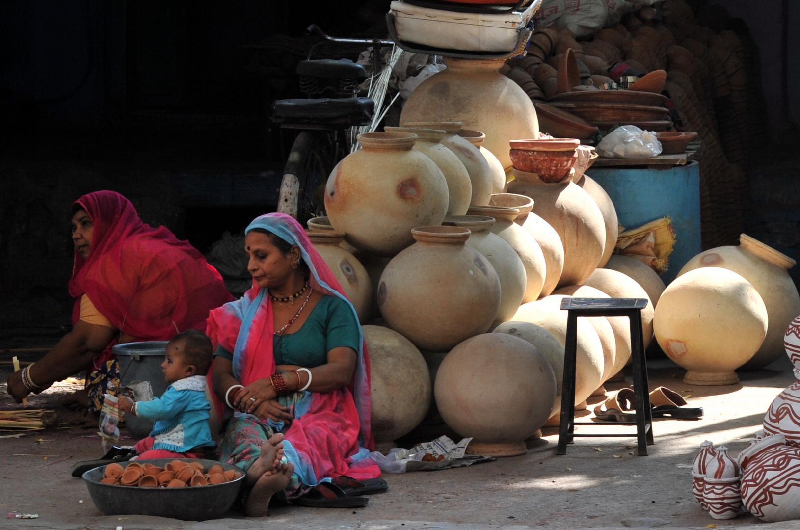 Frauen in Rajasthan Nr. 16