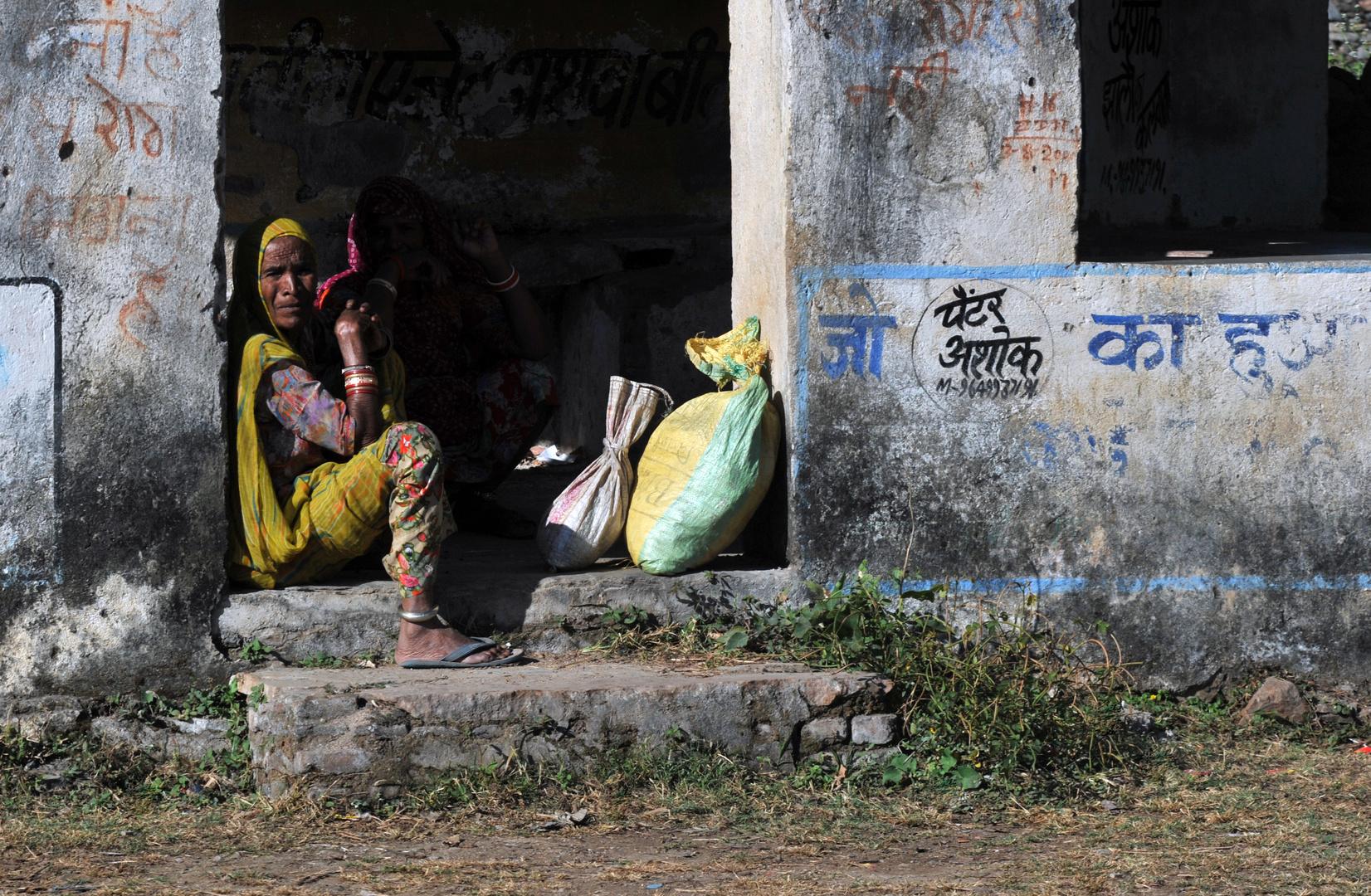 Frauen in Rajasthan Nr.17