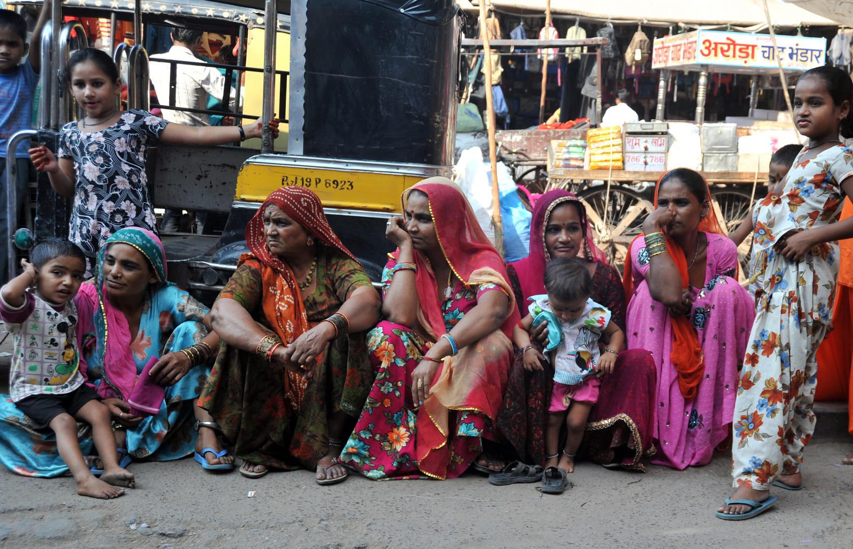 Frauen in Rajasthan Nr.18