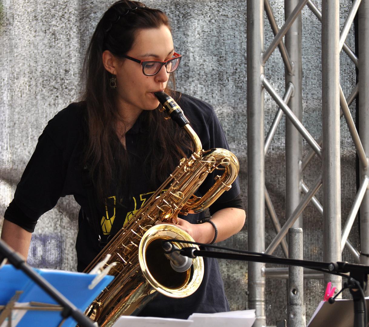 Frauen lieben Saxophon....