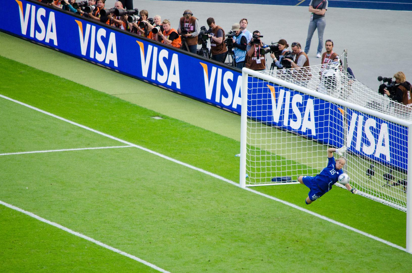 Frauenfußball WM Erin McLeod Deutschland : Kanada
