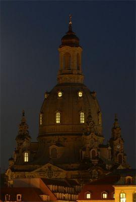 Frauenkirche am Abend