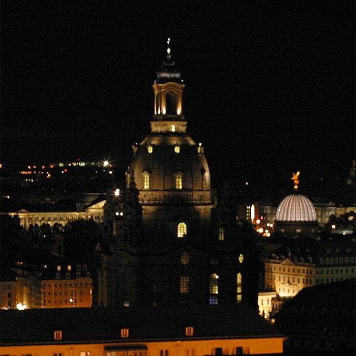 Frauenkirche bei Nacht #1