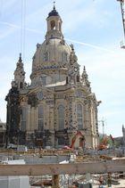Frauenkirche DD in herllicher Sonne letzten Samstag