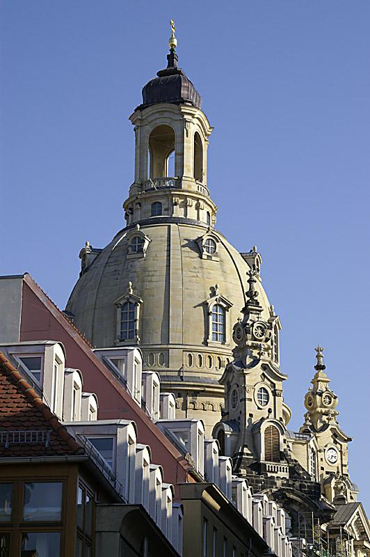 Frauenkirche im Abendlicht