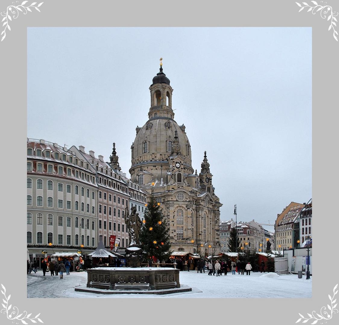 Frauenkirche im Advent