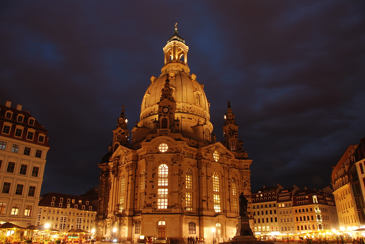 Frauenkirche in Dresden 2013