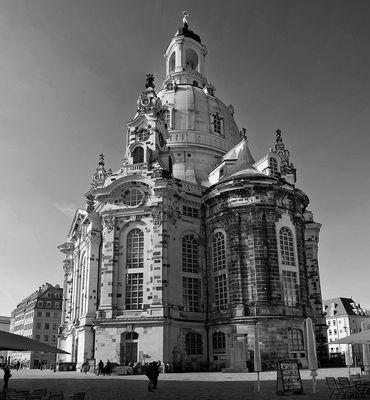 Frauenkirche in s/w