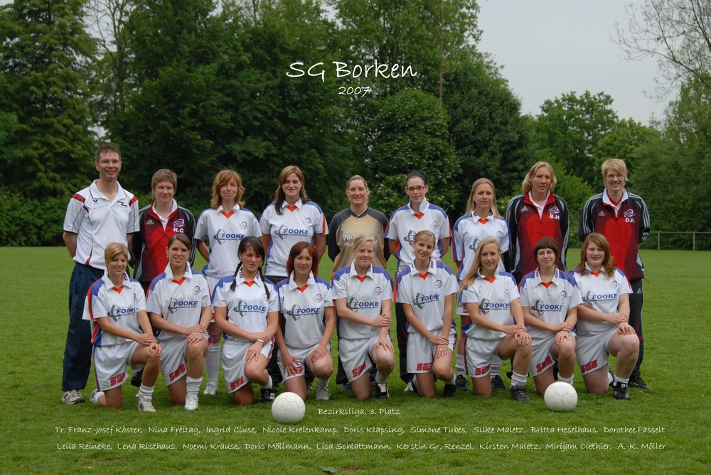 Frauenmannschaft SG Borken