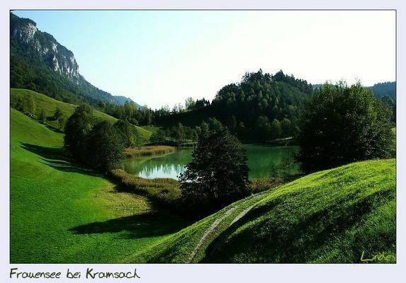 Frauensee bei Kramsach/Tirol