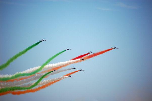 Frecce Tricolori, gli acrobati del cielo